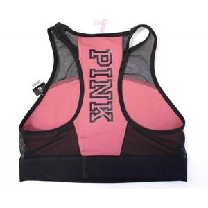 PINK Ultimate High Neck Sports Bra
